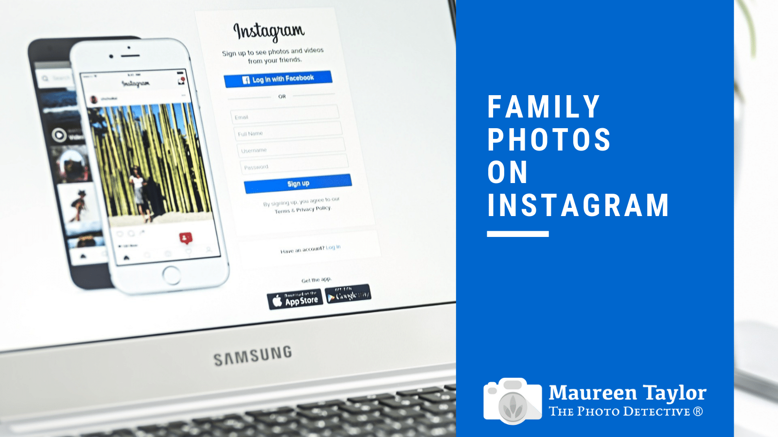 Family Photos on Instagram | The Photo Detective